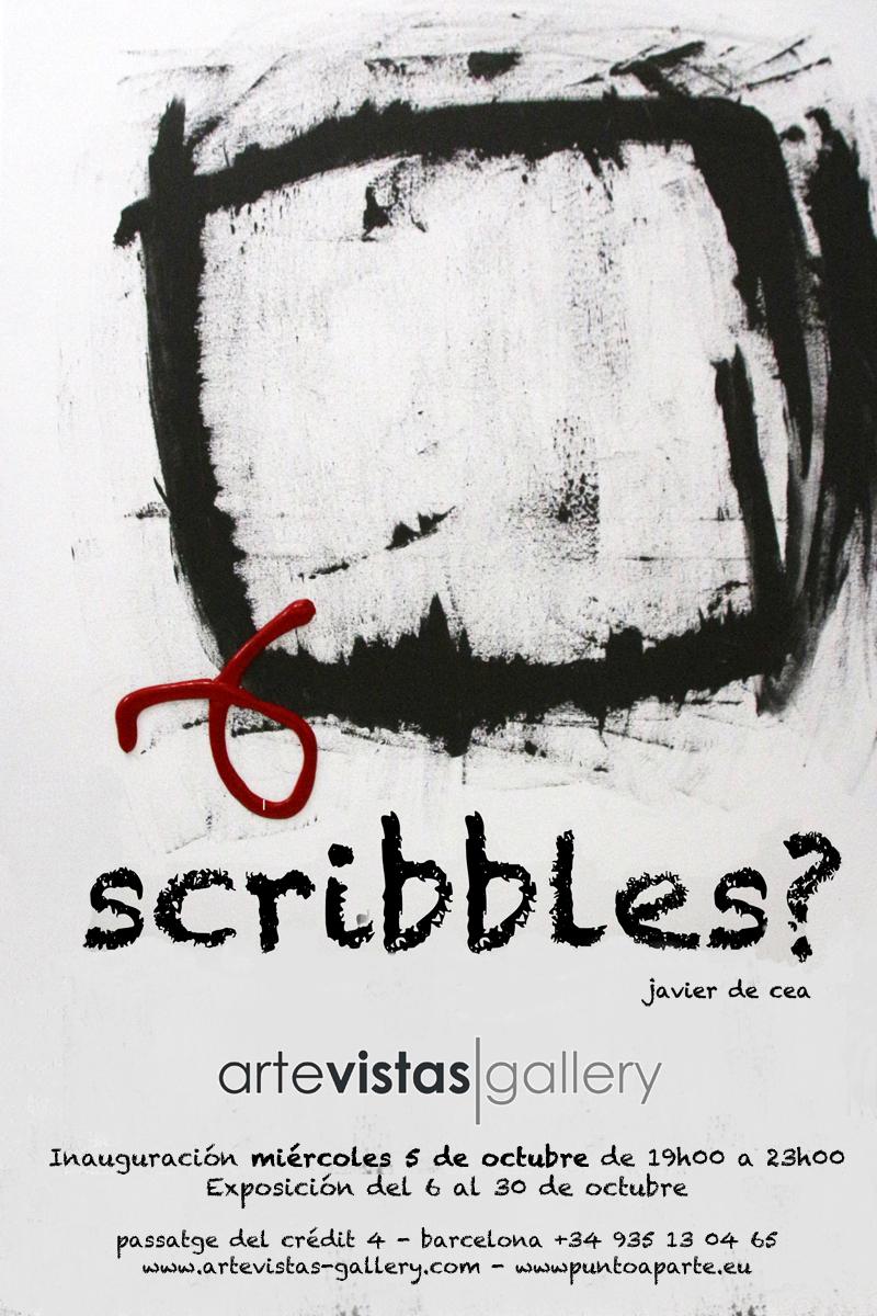 """Javier de Cea """"Scribbles"""""""
