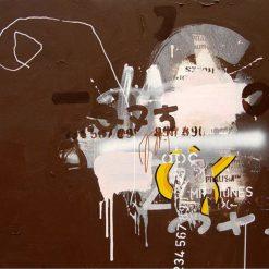 Urbania Técnica mixta sobre tela 80 x 99 cm 2012