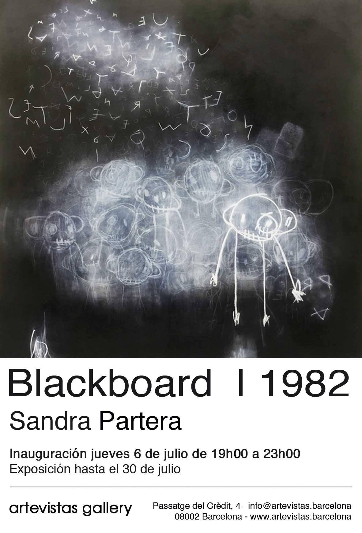 Blackboard | 1982 - Sandra Partera