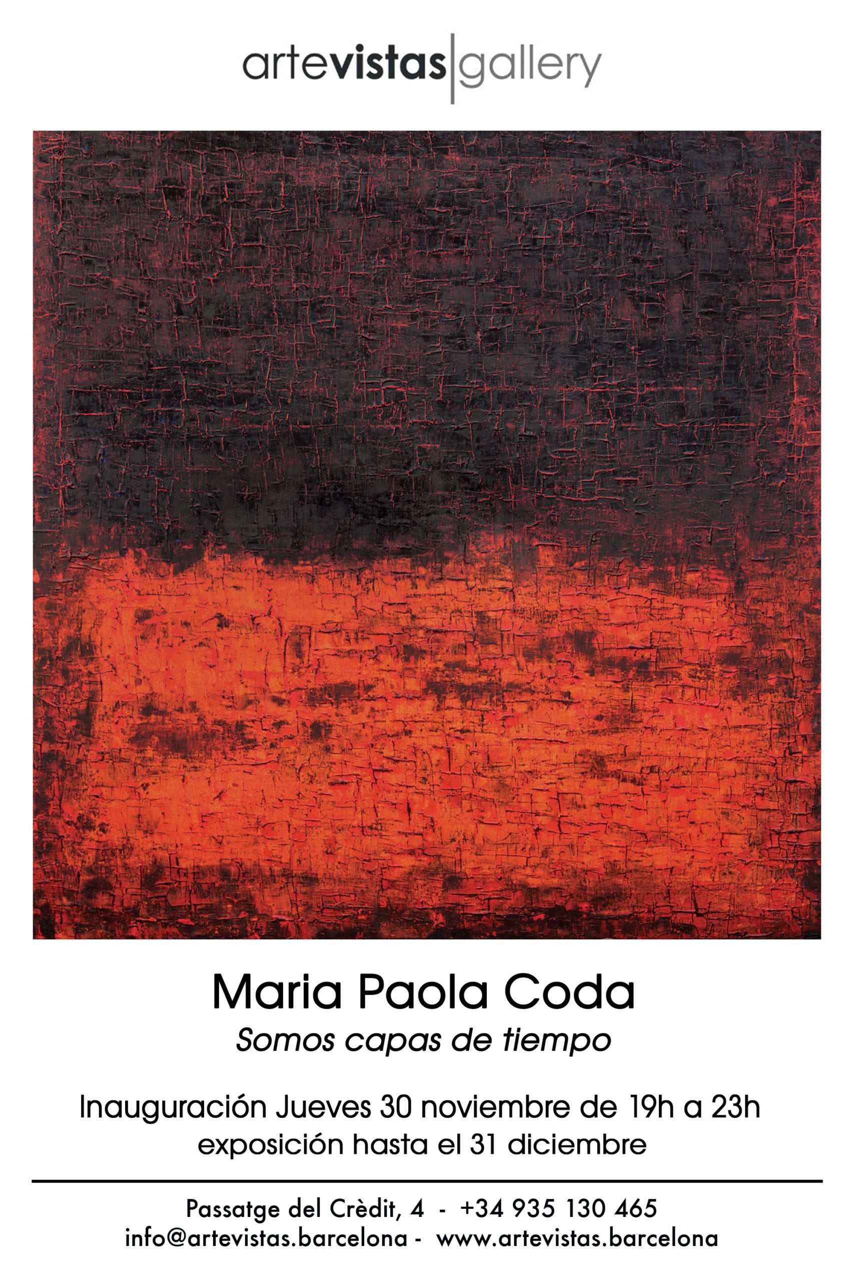 Somos capas de tiempo - Maria Paola Coda