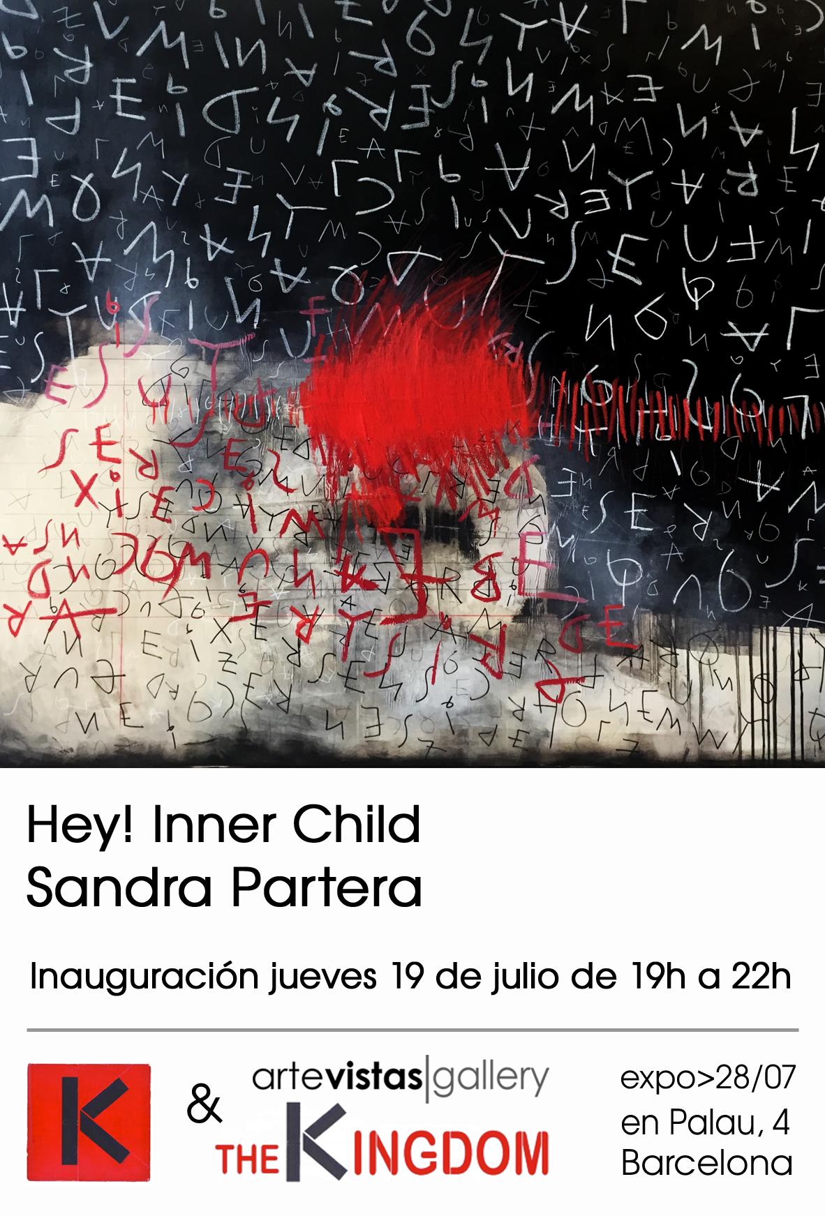 Hey! Inner child <br />Sandra Partera